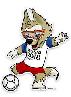 Mascotte World Cup 2018